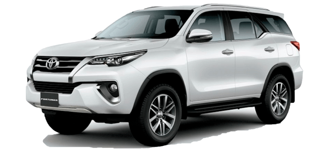 Rent Car Toyota Fortuner Samui
